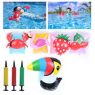 2 7Years Baby Swimming Arm Ring Inflatable Pool Kid Children Arm float SleevesLY