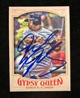 DELINO DESHIELDS JR 2016 TOPPS GYSPY QUEEN AUTOGRAPHED SIGNED AUTO BASEBALL 206