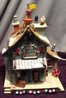 Lemax The Ship Ahoy Plymouth Corners Lighted Village House 2002