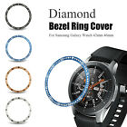 Time Dial Watch Protective Case Diamond Shell Bezel Ring Metal Cover