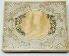 LACE CIRCLE FRAME ROSES FLOWERS RUBBER STAMPS HAPPEN RETIRED 80145 RECTANGLE