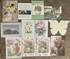Greeting Cards Assortment  Blank Note Cards  Envelopes Lot of 12 NOS