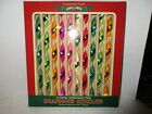Chris. Radko Shiny Brite Christmas Icicle Ornaments w/Box Holiday Decorations