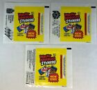 WACKY PACKAGES SERIES 2 STICKERS 3 Different UNFOLDED WRAPPERS 1979 Topps
