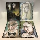 AMERICAN HORROR STORY ASYLUM 2014 SDCC PROMO CARD SET 5X7 Only 50 Made BREYGENT
