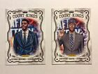 2012 Panini National Convention - VIP Kings RC Lot of 2 - Irving and Davis - NM