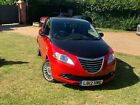 CHRYSLER YPSILON BLACK AND RED EDITION 5 DOOR 2012 12 PLATE
