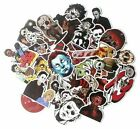 Classic Movie Horror Characters Assorted Skateboard Stickers Lot Of 37 Pieces