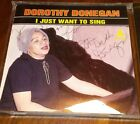 Dorothy Donegan Autograph Signed CD I Just Want to Sing Jazz Piano Cab Calloway