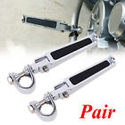 Motorcycle U-Clamp Foot Pegs Rests 1