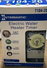 Intermatic T104 20 Hour Mechanical 208V 277 V CA Water Heater Timer Switch