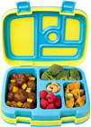 Bentgo Kids Brights  Leak Proof 5 Compartment Bento Style Kids Lunch Box  for