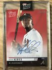 2019 TOPPS NOW Auto OZZIE ALBIES Road to Opening Day Red #OD-2227D #10 10