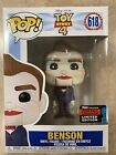 **IN HAND FUNKO POP TOY STORY 4 BENSON 2019 NYCC EXCLUSIVE NOT RELEASED YET**