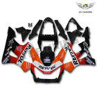 Fit for Honda 2000 2001 CBR929RR CBR900RR Injection Plastic Orange Fairing x029