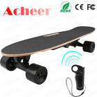 Electric Skateboard Youth Electric Longboard with Wireless Remote Control 12 MPH