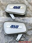Honda CB450D Air Cleaner side Covers LH&RH Scrambler Black Bomber Reproduction S