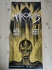 METROPOLIS Original Movie Poster 12x27 Italian FRITZ LANG ABEL FROHLICH