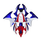ABS Fairing Bodywork Set Fit Honda CBR125R Fireblade 2002 03 04 05 06 Red+Blue