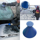 Magical Car Windshield Ice Snow Remover Scraper Tool Cone Shaped Round Funnel