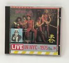 New York Dolls(CD Album)Red Patent Leather-Live In Nyc 1975 - RRCD 173 - VG