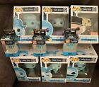 Funko Pop Madame Leota Haunted Mansion Set Of 6 Exclusives & 3 Keychains New