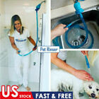 Connector Dogs Cats Wash Hose Attachment Pet Shower Sprinkler Handheld Rinser US