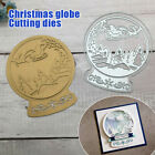 US Christmas Globe Metal Cutting Dies Scrapbooking Embossing Card Craft DIY