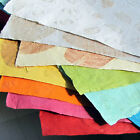 Acid free natural leaf handmade art craft paper 22x31 sheets scrap gifts India