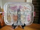 Vintage Indiana Glass Divided Fruit Tray