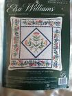 Elsa Williams FLOWER PATCHES PILLOW counted Cross Stitch Kit sealed