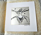 Cyclobe Wounded Galaxies Tap at the Window CD Art Edition Signed Art Print COIL