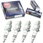 4pcs Ducati 450 SCRAMBLER NGK Iridium IX Spark Plugs 450 Kit Set Engine wl