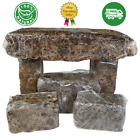 Raw African Black Soap PREMIUM QUALITY Organic Unrefined 100 Pure Natural Ghana