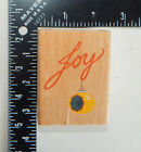 Canadian Maple Collections Joy Ornament Rubber Stamp