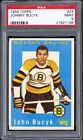 1959-60 Topps #23 Johnny Bucyk PSA 9 MINT From original collection.