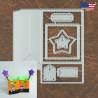 Small Gift Bag Cutting and Embossing Dies with Stars and Tags
