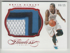 Kevin Durant  2013-14 Panini Flawless Ruby Jersey Patch (3 colours) - 06 15