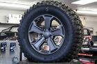 4 Preowned 17 Jeep Wrangler Rubicon Black wheels rims BFG 33 tires 07 18 JK