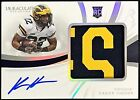 2019 Immaculate Collection Collegiate Football Cards 18