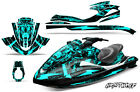 Jet Ski Graphic Kit Decal Wrap For Yamaha Wave Runner FX140 02-05 NIGHTWOLF MINT