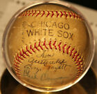 1956 Chicago White Sox Autographed Team Baseball
