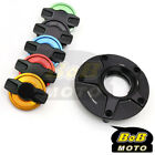 BLACK FCR 1/4 Quick Lock Gas Fuel Cap For Yamaha XJ 1300 SP 06 07 11 12 13 14