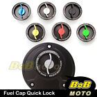 Racing CNC Quick Lock Release Fuel Cap For Ducati Monster S4R S2R 1000 800 900