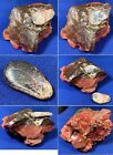 MUSEUM PIECEAKRO AGATE OXBLOOD MARBLE CULLET WITH HUGE COPPER INGREDIENT WOW