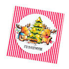 Merry Christmas Clear Stamps Silicone DIY Scrapbooking Photo Card Making Stamps