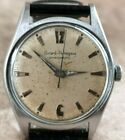 Girard Perregaux Gyromatic Rare DIAL AUTOMATIC St. Steel 33mm Midsize Watch 60's