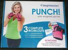NEW Weight Watchers Punch Fitness Pink Weighted Gloves DVD  Exercise Tracker