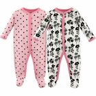 Luvable Friends Girl Sleep and Play 2 Pack Flowers
