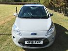 FORD Ka TITANIUM 2016 LEATHER SEATS PANORAMIC ROOF 20000miles